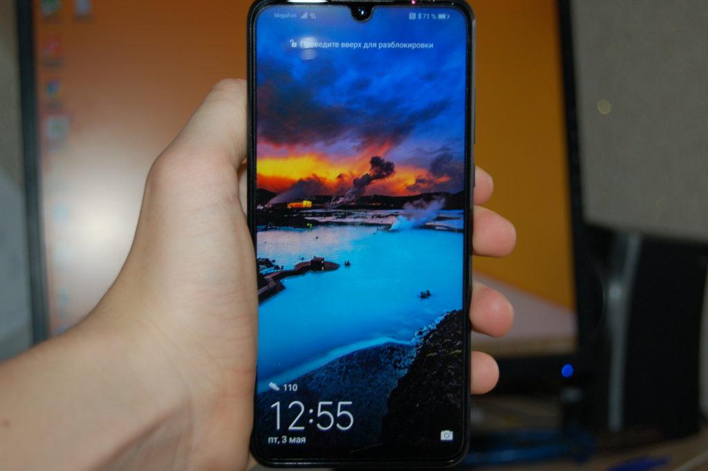Huawei p30 lite экран