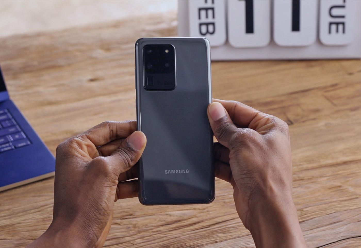 Galaxy Unpacked 2020 - Galaxy s20 Ultra