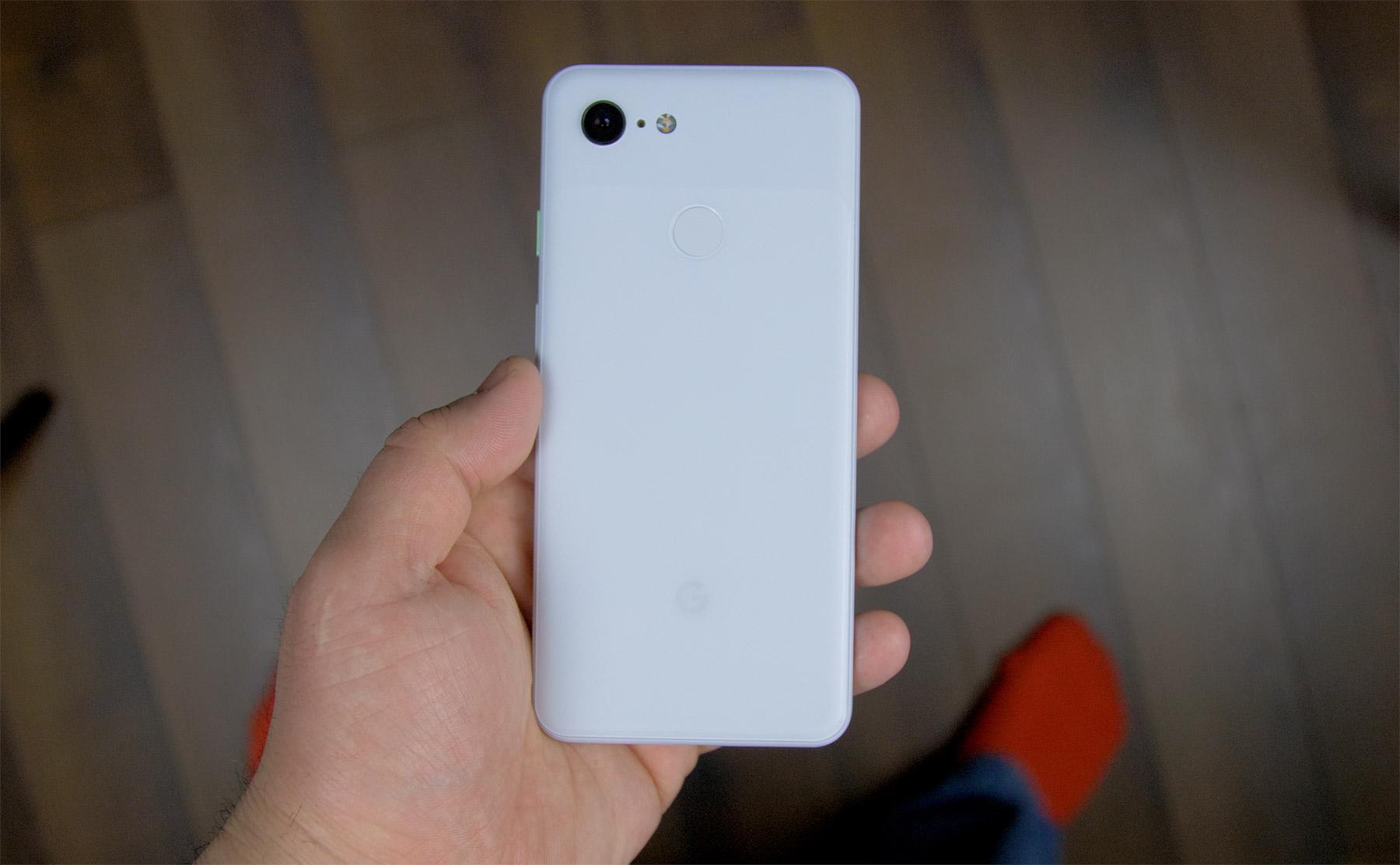 Google-Pixel-3-white