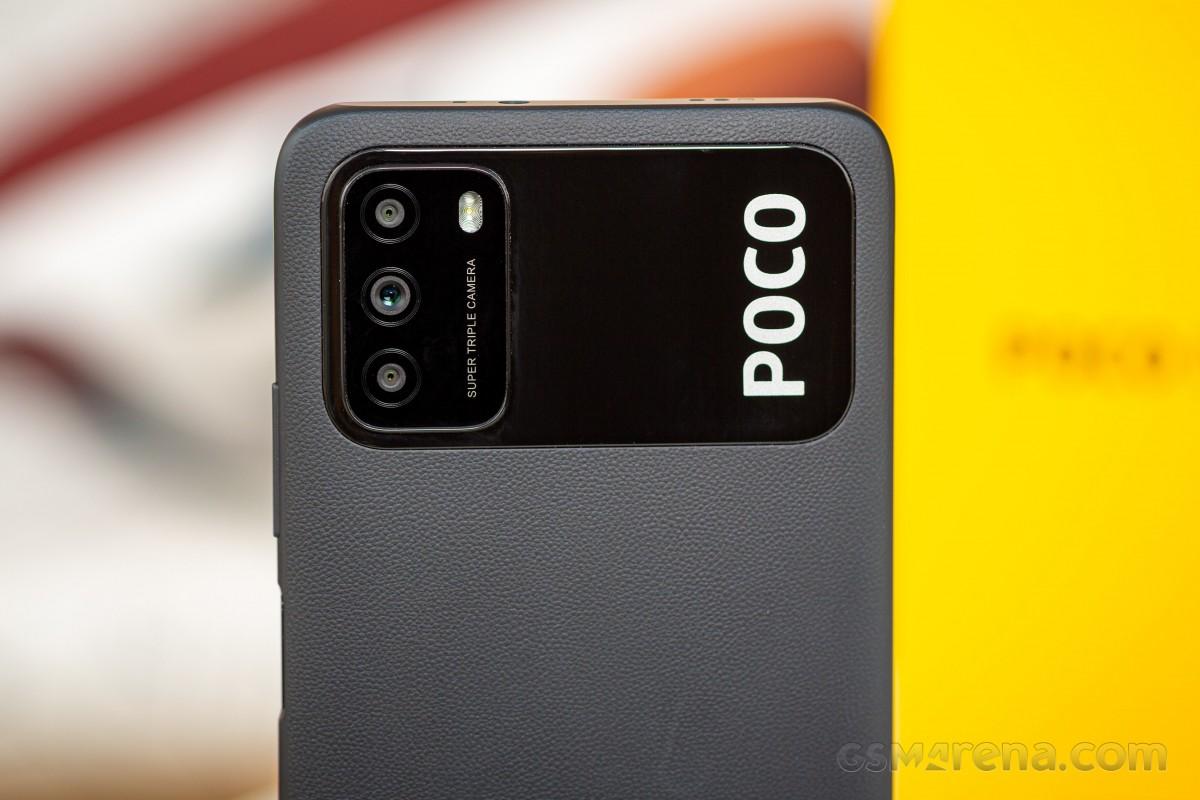 Блок камер в Poco m3 - огромный