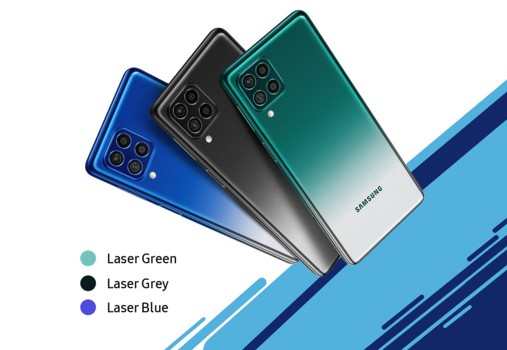 Смартфон с большим аккумулятором - Samsung Galaxy F62