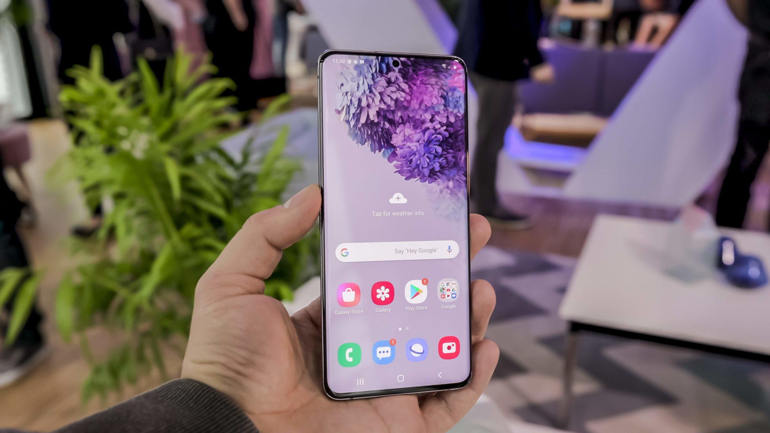 Обзор Samsung Galaxy S20
